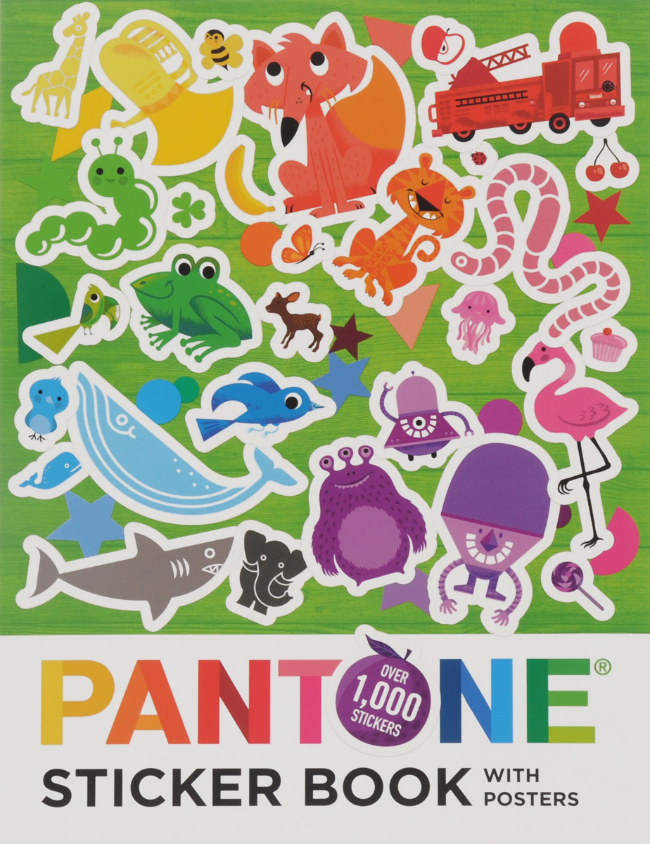 Купить Pantone: Sticker Book with Posters