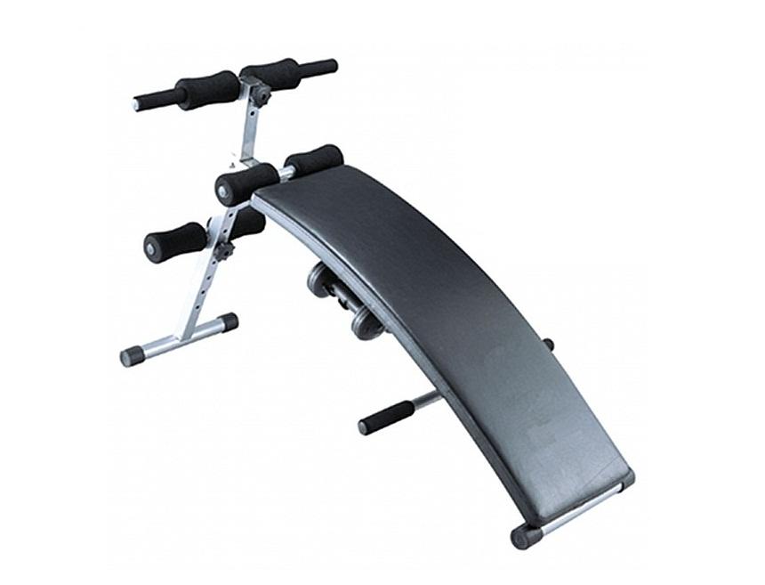 Cкамья для пресса Sport Elit SE-510, цвет черный велотренажер sport elit se 400