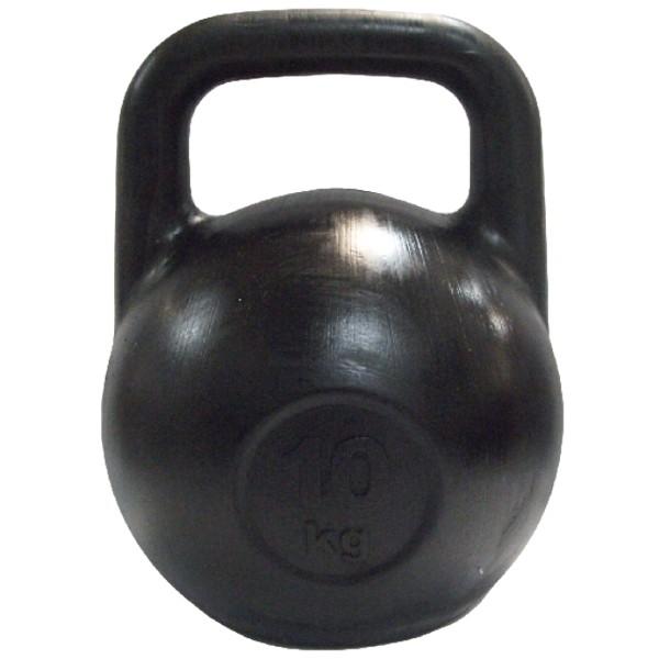 Гиря Euro-Classic, цвет: черный, 10 кг гиря цельнолитая 16 кг