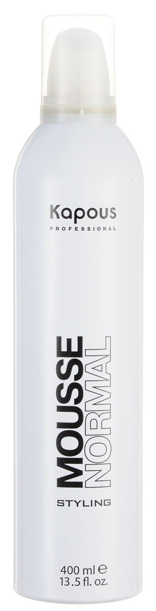 Kapous Professional Мусс для укладки волос нормальной фиксации 400 мл kapous professional мусс для укладки волос нормальной фиксации 400 мл
