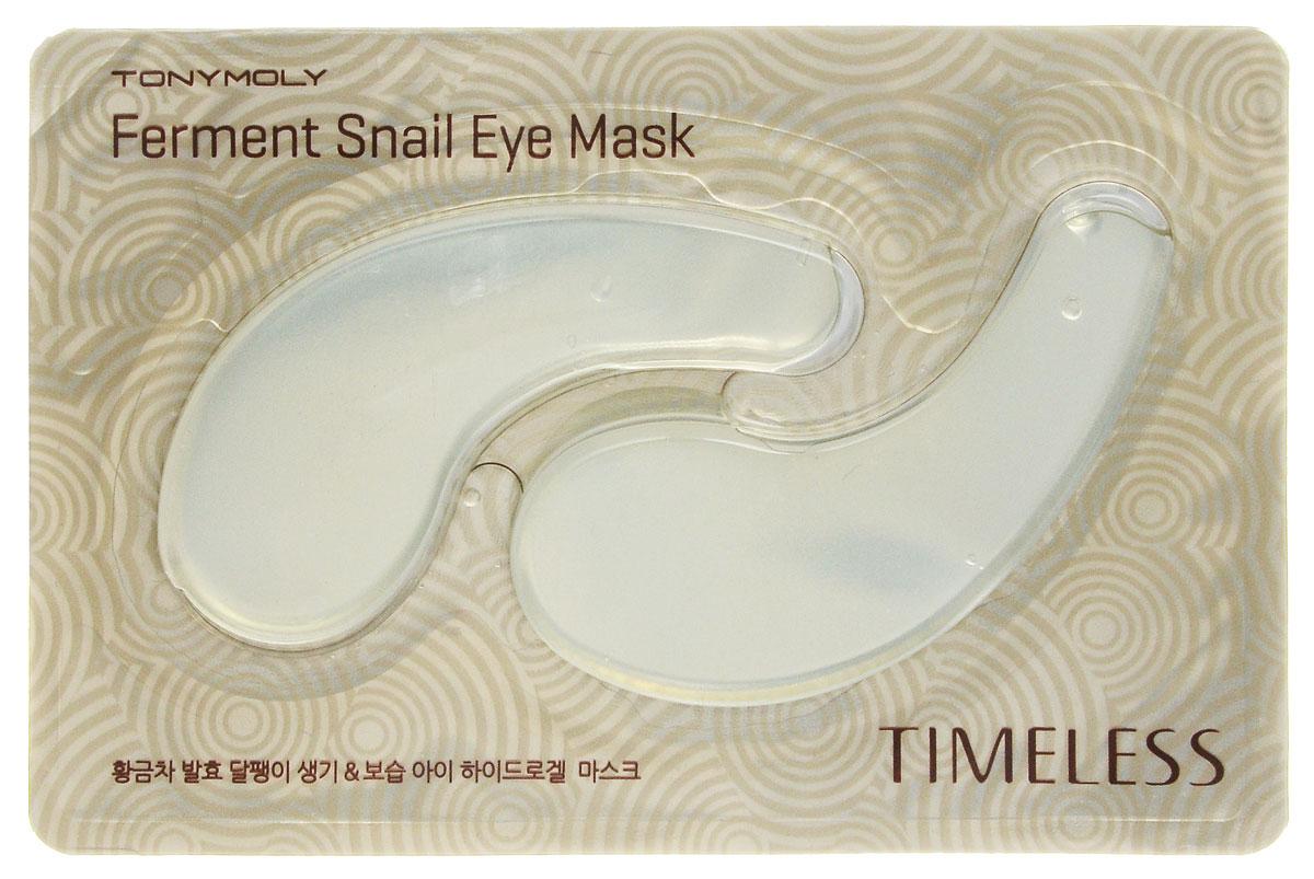 TonyMoly Маска для области вокруг глаз Timeless Ferment Snail Eye mask, 35 г
