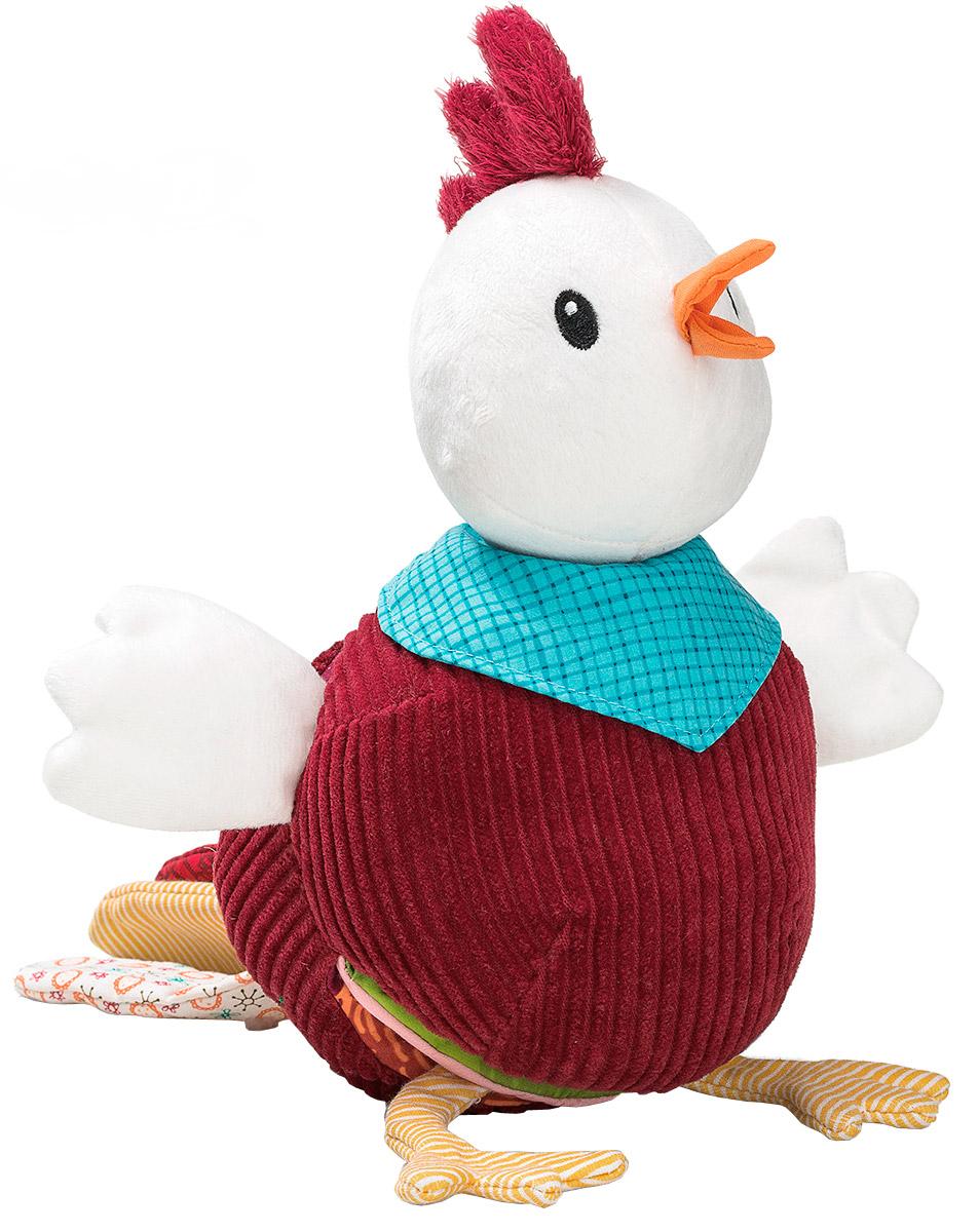 Lilliputiens Книжка-игрушка мягкая Петушок Джон lilliputiens мягкая книжка игрушка петушок джон