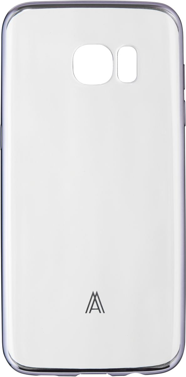 Anymode Luxe Soft Skin чехол для Samsung Galaxy S7, Silver