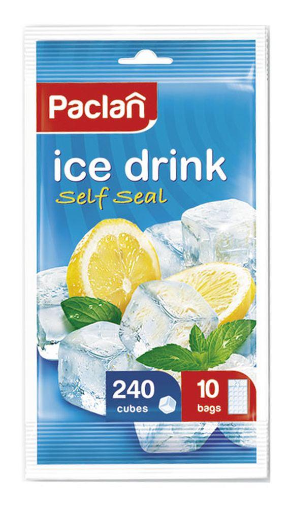 Мешочки для приготовления ледяных кубиков Paclan, 10 шт404130/513311/513310Пакетики для приготовления льда Paclanочень удобны в использовании. Лед, приготовленный в пакетах, удобно использовать – просто надавите на пакет.А также лед, приготовленный в пакетиках, всегда будет чистыми без посторонних запахов!