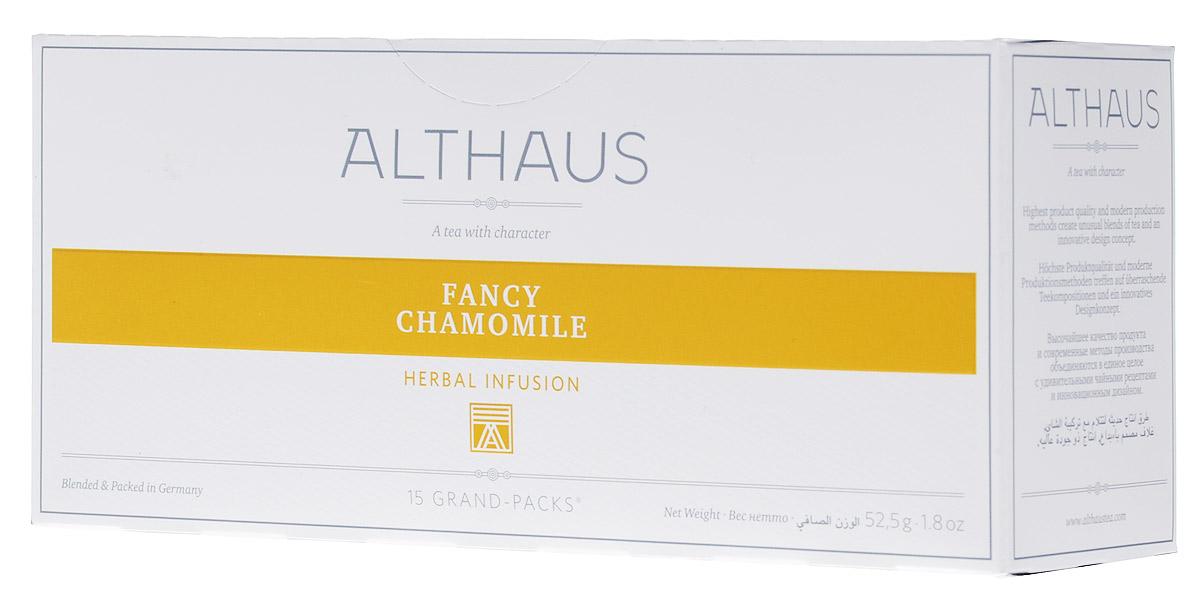 Althaus Grand Pack Fancy Camomile травяной чай в пакетиках, 15 шт