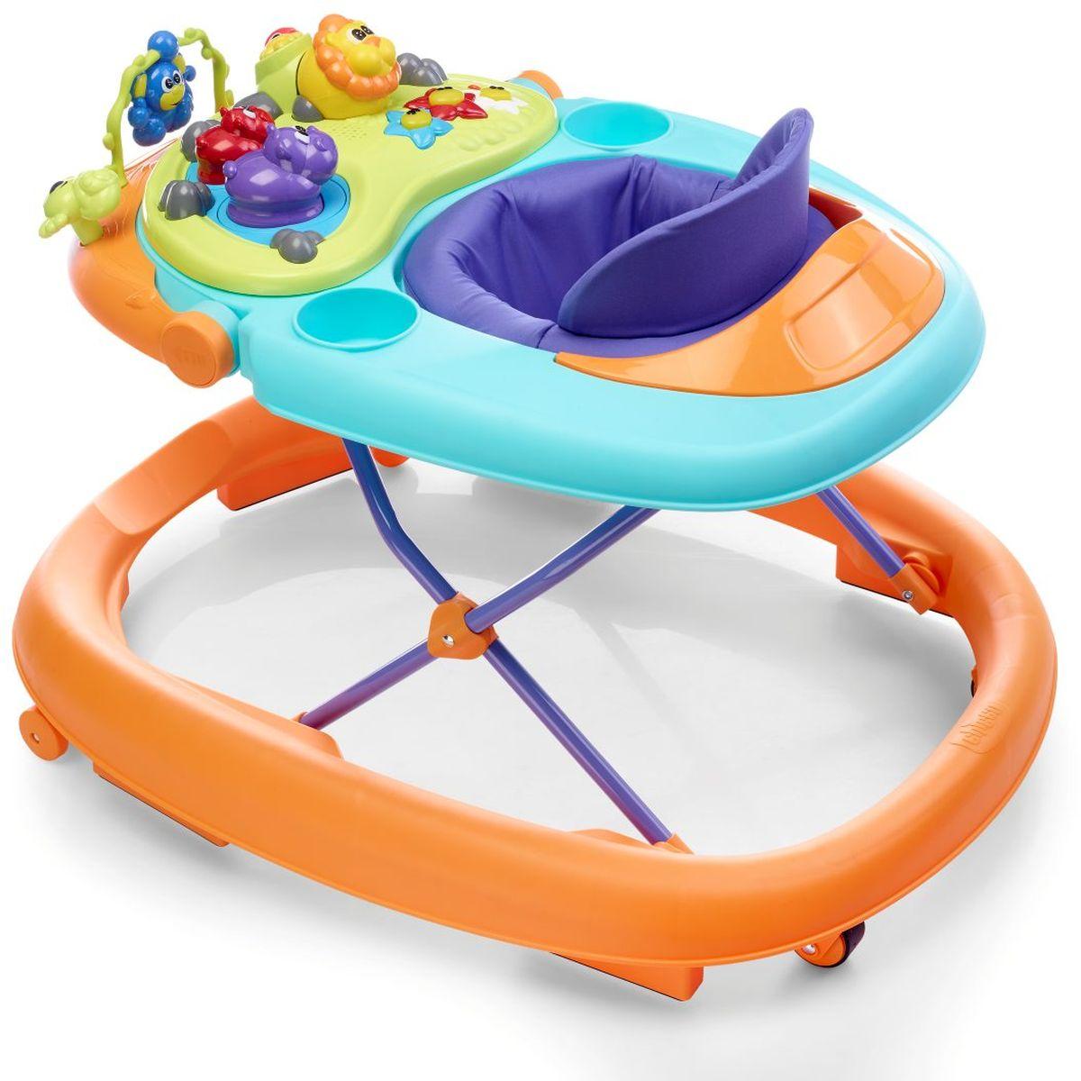 Chicco Ходунки Walky Talky цвет оранжевый держатель ходунки для ребенка other 4034 mothercare