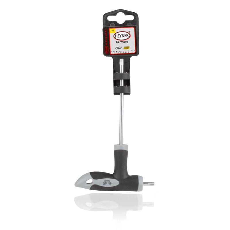 Отвертка двусторонняя Heyner Torx, T25/100x13.5 мм насос ножной heyner pedal max pro
