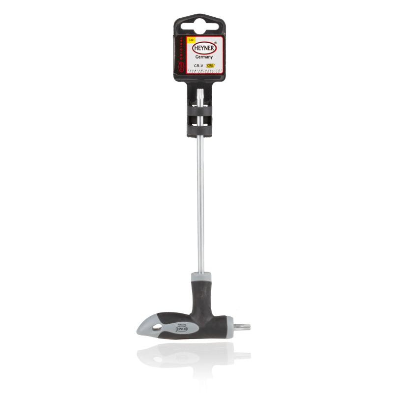Отвертка двусторонняя Heyner Torx, T30/150x16 мм насос ножной heyner pedal max pro