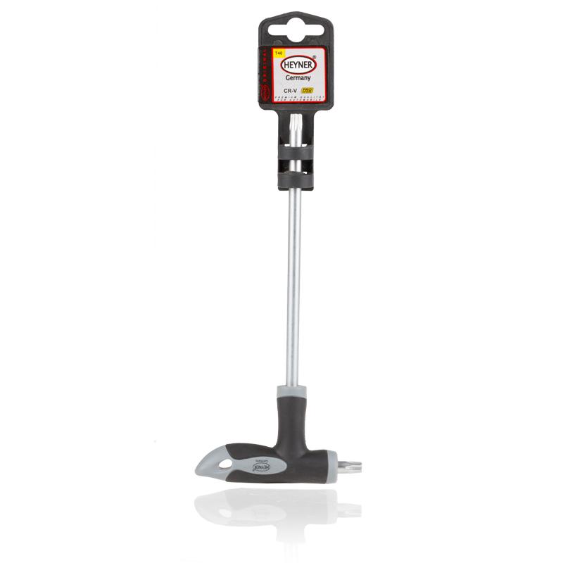 Отвертка двусторонняя Heyner Torx, T40/150x16 мм насос ножной heyner pedal max pro