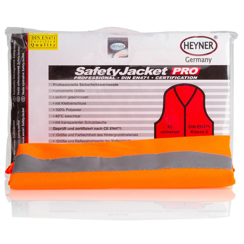 Жилет светоотражающий Heyner, цвет: оранжевый549000Жилет светоотражающий оранжевый, универсальный, закрыт посторонам, на липучке, 100% полиэфирное волокно. Стирать можно при 30 градусах.