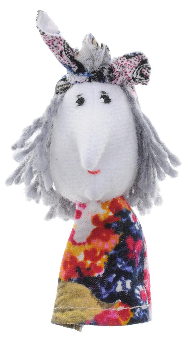 Наивный мир Кукла пальчиковая Баба Яга книги проф пресс баба яга