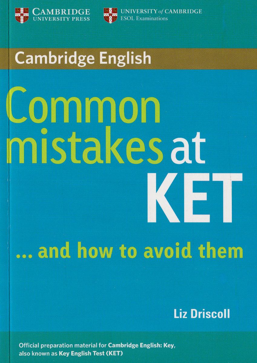 Common Mistakes at KET ... and how to avoid them, Paperback common mistakes at pet and how to avoid them paperback with testbank
