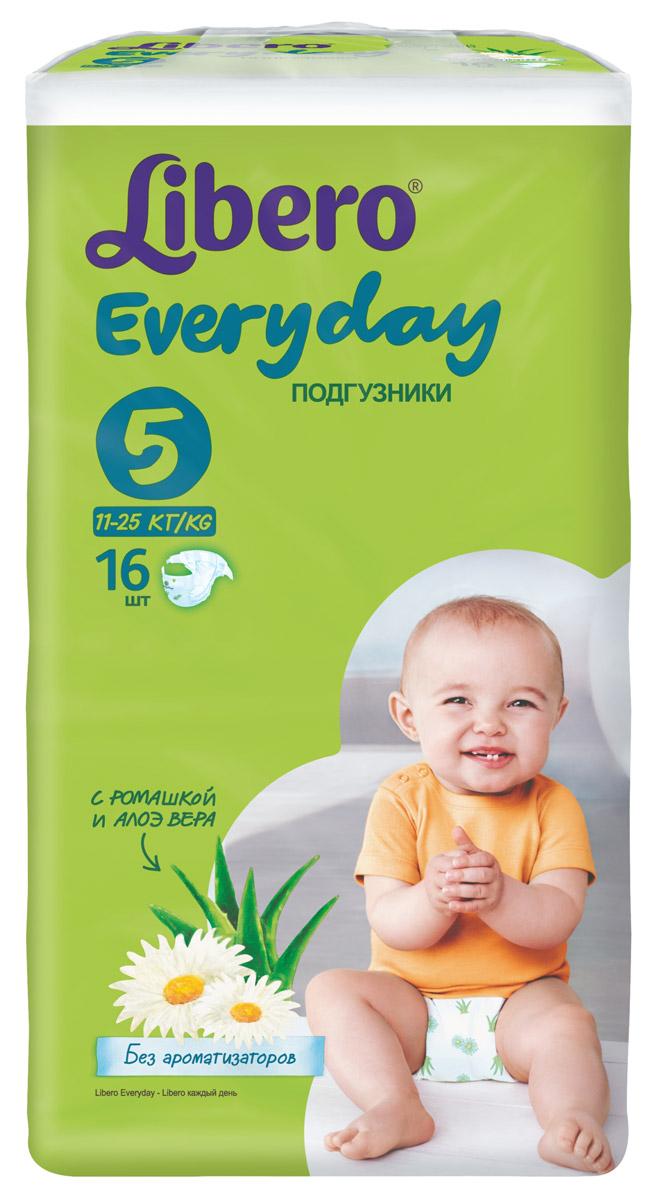 Libero Подгузники Everyday Size 5 (11-25 кг) 16 шт