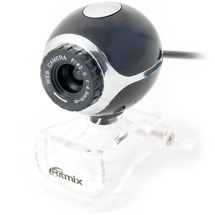 Ritmix RVC-015M Web-камера15116083Стандартная веб-камера Ritmix RVC-015M с качественной оптикой, работающая по интерфейсу USB. Это наилучший выбор для домашнего использования. Камера оснащена встроенным микрофоном.Разрешение записи: до 1600x1200 (при работе под управлением программного драйвера)Кадров в секунду: 30Угол обзора объектива (по диагонали): 54°Фокусировка: ручная - от 5 см до бесконечностиФорматы видео: AVIГрафические форматы: JPG