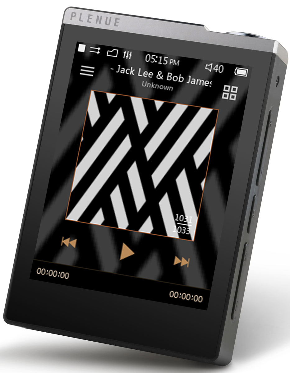 Cowon Plenue D, Silver Black Hi-Res плеер cowon plenue s 128gb silver mp3 плеер