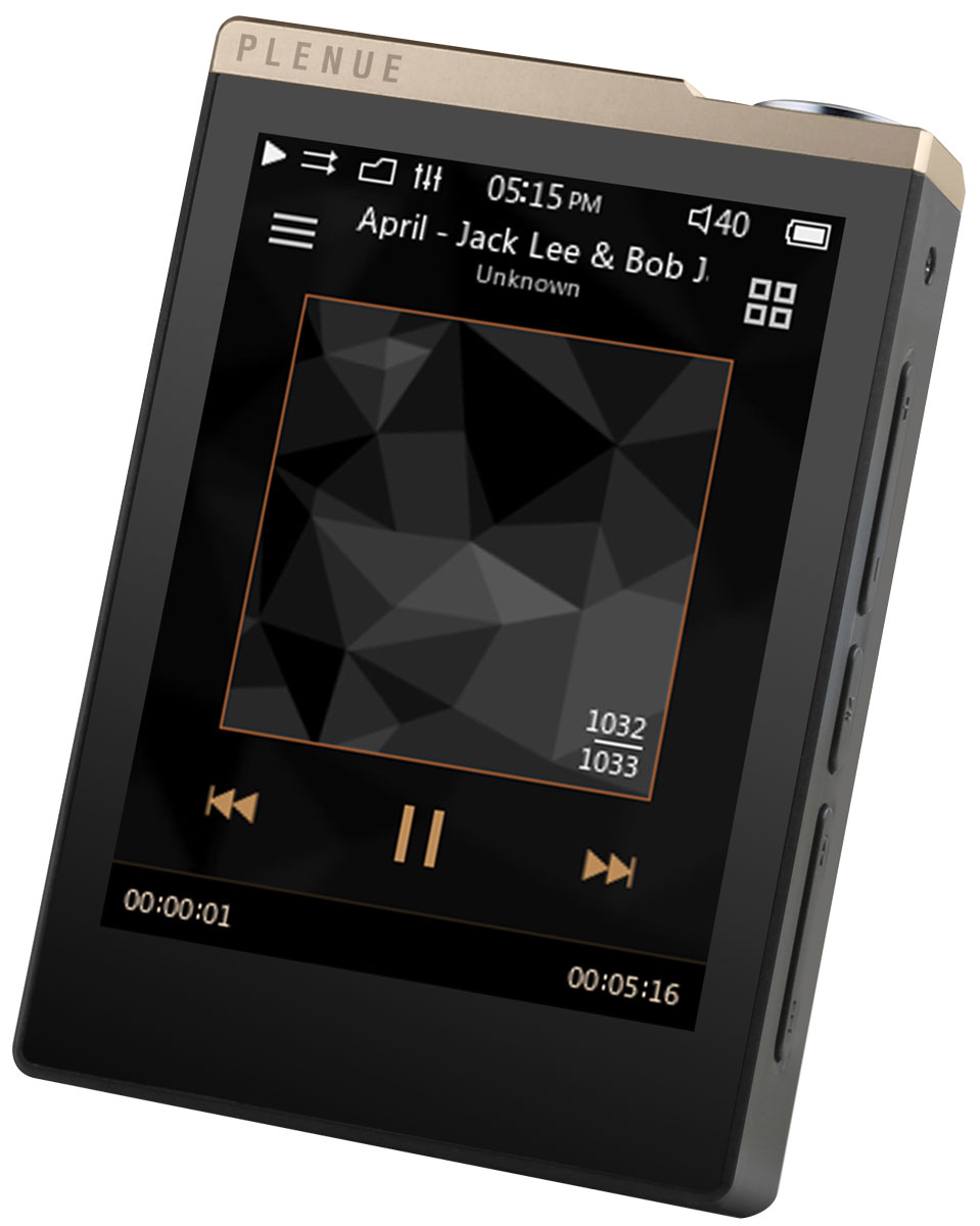 Cowon Plenue D, Gold Black Hi-Res плеер mp3 плеер cowon plenue 1 128gb gold