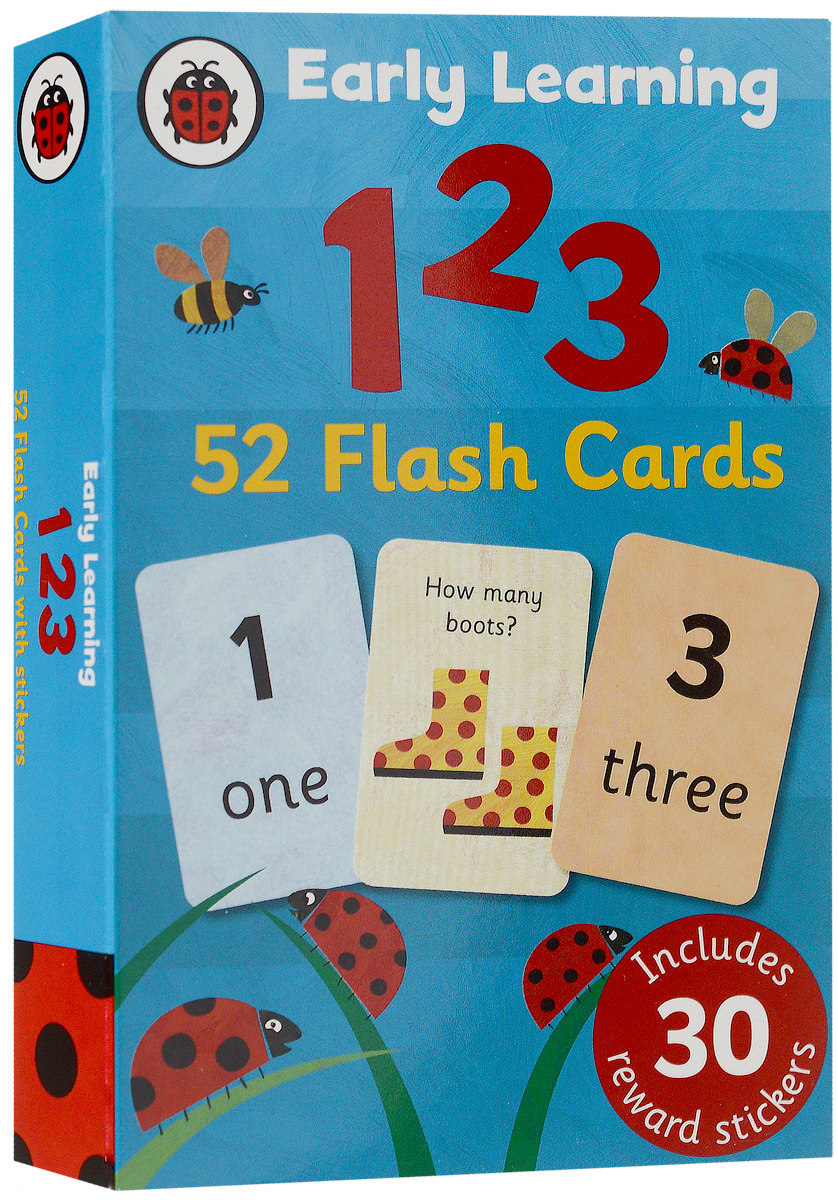 123 (52 flashcards) new yippee red flashcards