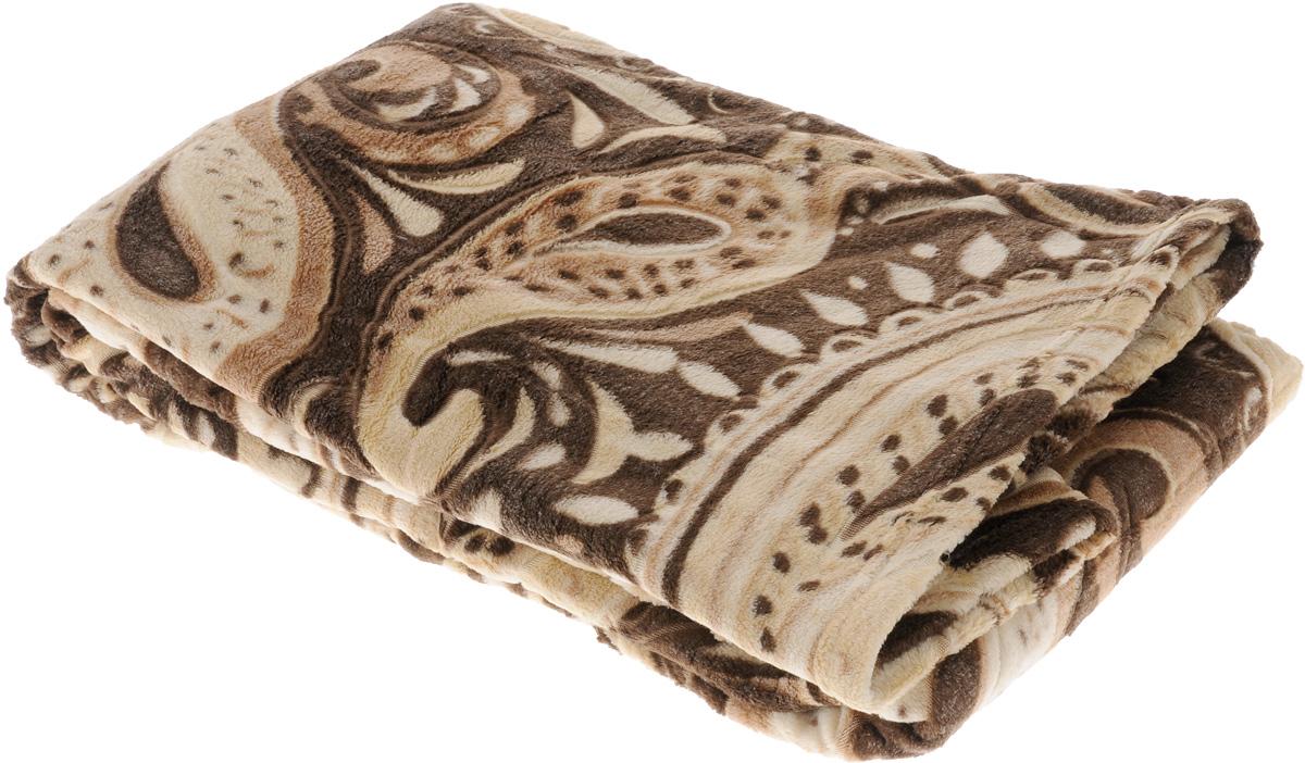 Плед Buenas Noches Bamboo, цвет: коричневый, бежевый, 150 х 200 см. 6953769537_коричневыйПлед Buenas Noches Bamboo - идеальное решение для вашего интерьера.Он порадует вас легкостью, нежностью и оригинальным дизайном.Плед выполнен из 100% полиэстера и декорирован оригинальным орнаментом.Полиэстер считается одной из самых популярных тканей. Это материал синтетического происхождения из полиэфирных волокон. Изделия из полиэстера не мнутся и легко стираются. После стирки очень быстро высыхают. Плед - это такой подарок, который будет всегда актуален, особенно для ваших родных и близких, ведь вы дарите им частичку своего тепла!