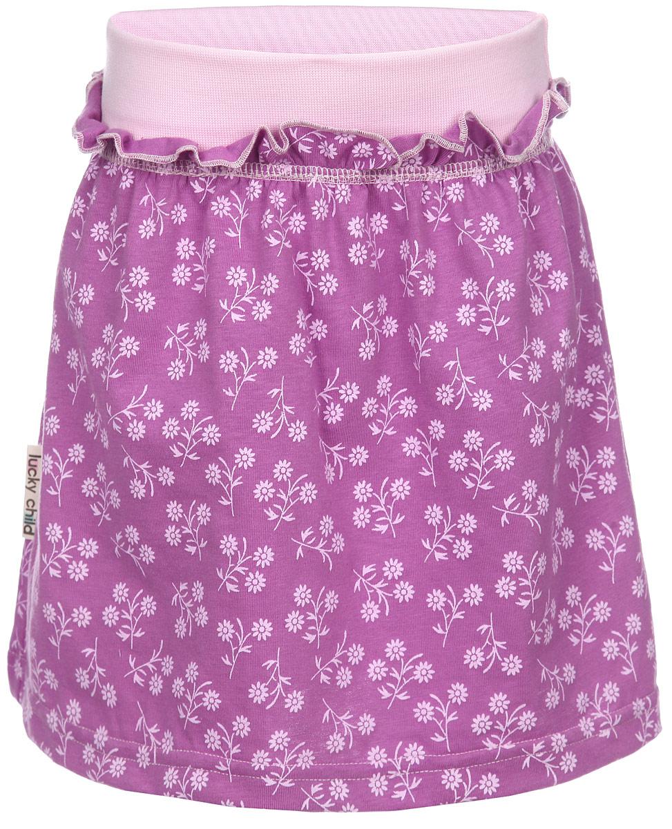 Юбка для девочки Lucky Child Цветочки, цвет: сиреневый, светло-розовый. 11-35. Размер 92/98, 3 года cnc router 3 axis tb6560 stepper motor driver board controller