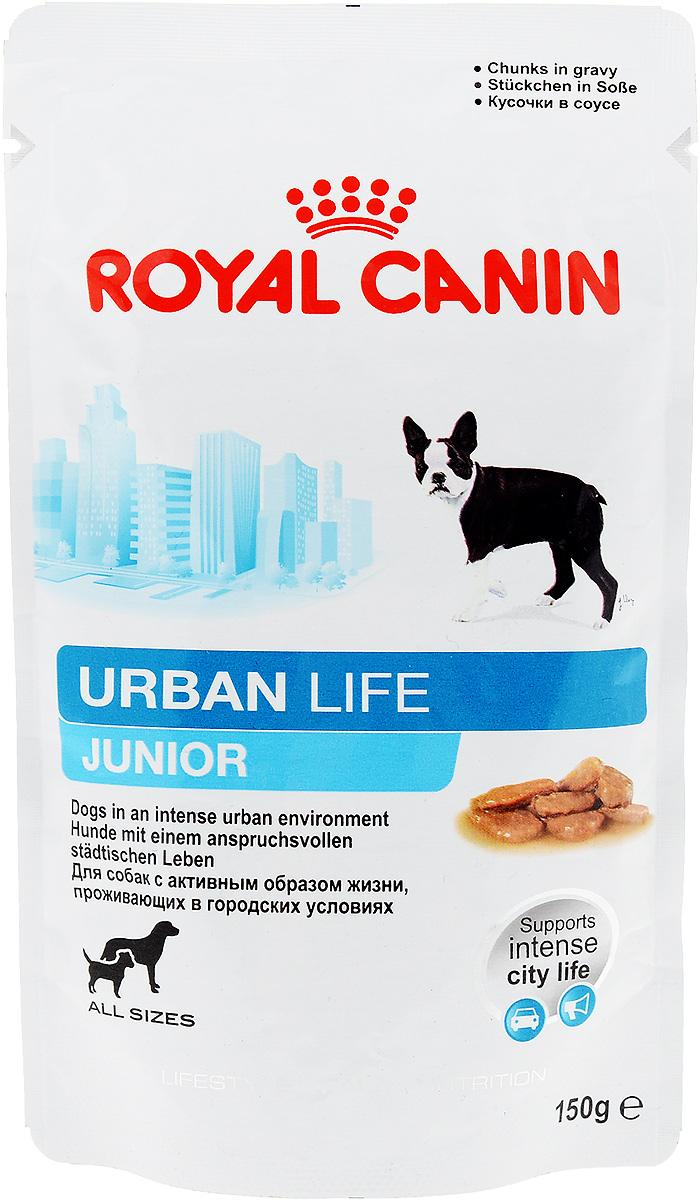 Консервы Royal Canin Urban Life Junior, для щенков, живущих в городских условиях, мелкие кусочки в соусе, 150 г57331Консервы Royal Canin Urban Life Junior - это полнорационный корм для щенков в возрасте до 10-15 месяцев, живущих в городских условиях.Поддержка в городской среде. Urban Life Junior содержит уникальный комплекс антиоксидантов, помогающий собакам, живущим в городе, справляться с оксидативным стрессом, вызванным загрязнением окружающей среды. Продукт содержит ценные питательные вещества из рыбного сырья, которые также способствуют поддержанию здоровья городской собаки, часто сталкивающейся со стрессовыми ситуациями (городской шум, скопления людей,автомобильное движение).Гармоничный рост. Точно выверенный баланс питательных веществ отвечает энергетическим потребностям щенка. Продукт содержит пребиотики и высококачественные белки (L.I.P.*), поддерживающие здоровье пищеварительной системы.Естественная защита. Продукт содержит антиоксиданты, способствующие развитию механизмов естественной защиты щенка. Состав: мясо и мясные субпродукты, рыба и рыбные субпродукты, злаки, субпродукты растительного происхождения, масла и жиры, минеральные вещества, углеводы, дрожжи. Добавки (в 1 кг): Витамин D3: 123 ME, Железо: 12 мг, Йод: 0,35 мг, Марганец: 3,7 мг, Цинк: 37 мг.Товар сертифицирован.