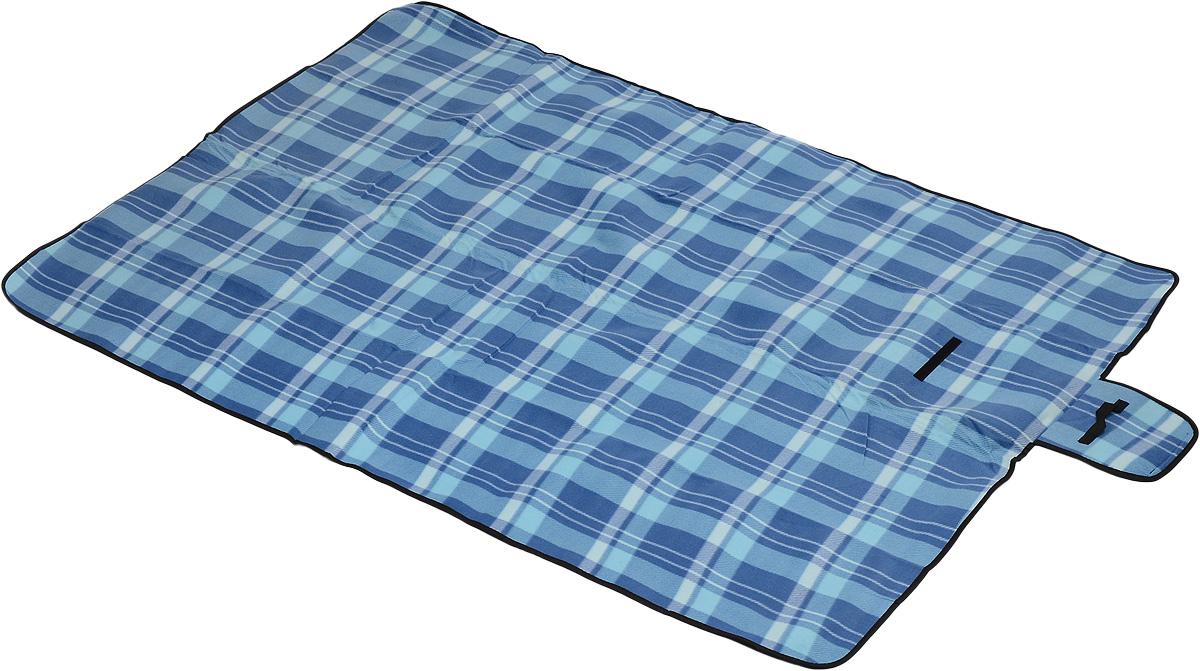 Коврик для пикника Wildman  Флиппер , цвет: голубой, синий, 150 х 200 см - Подушки, пледы, коврики