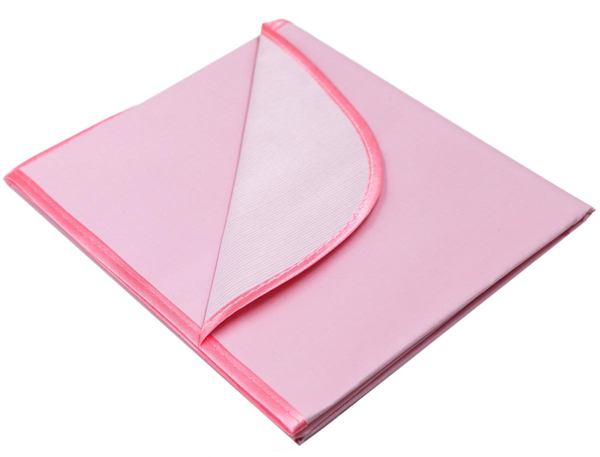 Колорит Клеенка подкладная с окантовкой цвет розовый 50 х 70 см -  Подгузники и пеленки