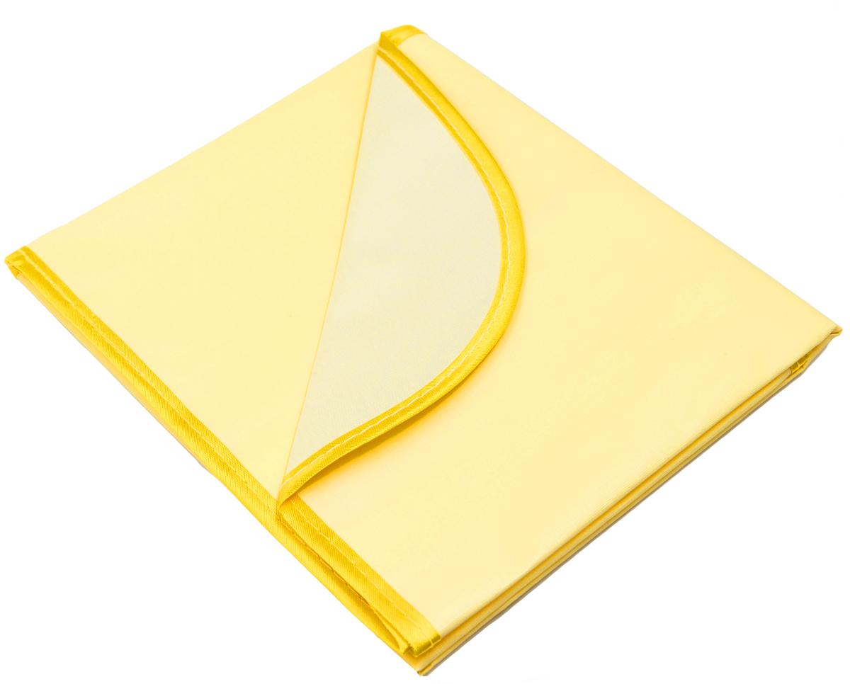 Колорит Клеенка подкладная с окантовкой цвет желтый 50 х 70 см -  Подгузники и пеленки