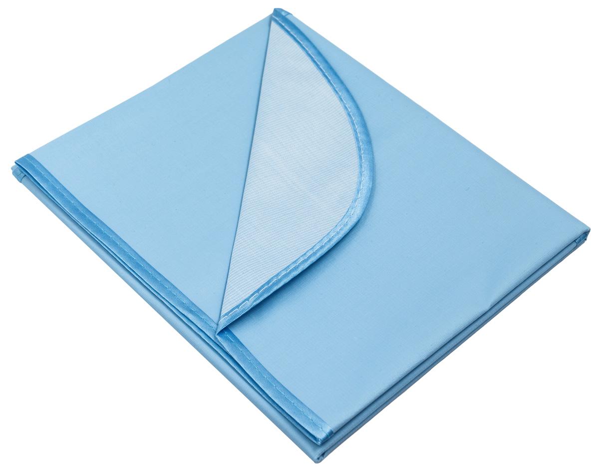 Колорит Клеенка подкладная с окантовкой цвет голубой 50 х 70 см