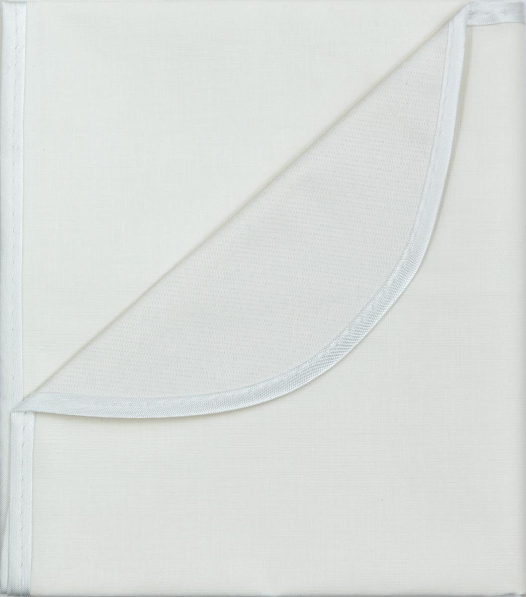Колорит Клеенка подкладная с окантовкой цвет белый 70 х 100 см