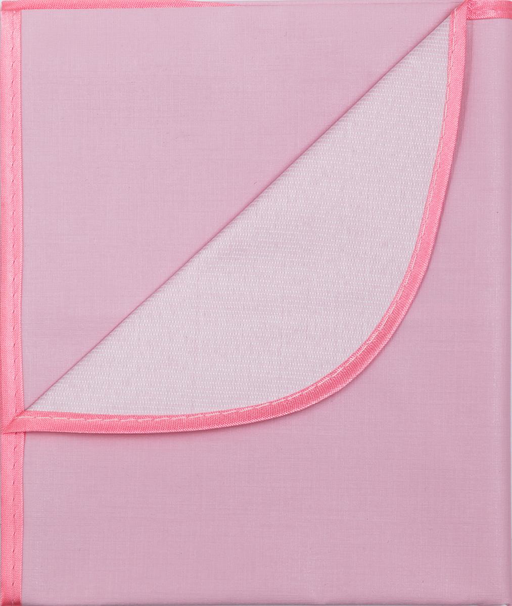 Колорит Клеенка подкладная с окантовкой цвет розовый 70 х 100 см