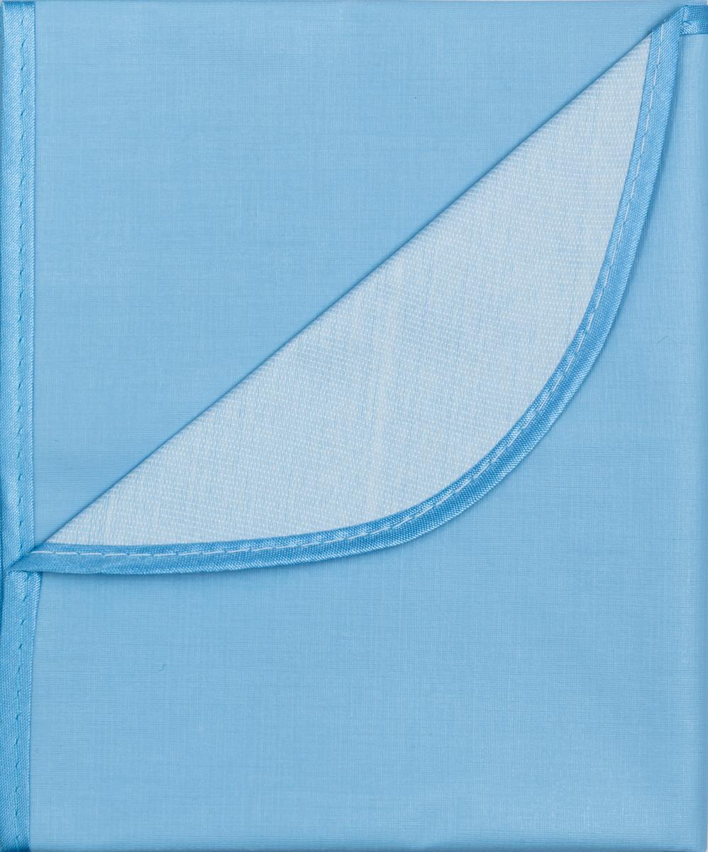 Колорит Клеенка подкладная с окантовкой цвет голубой 70 х 100 см