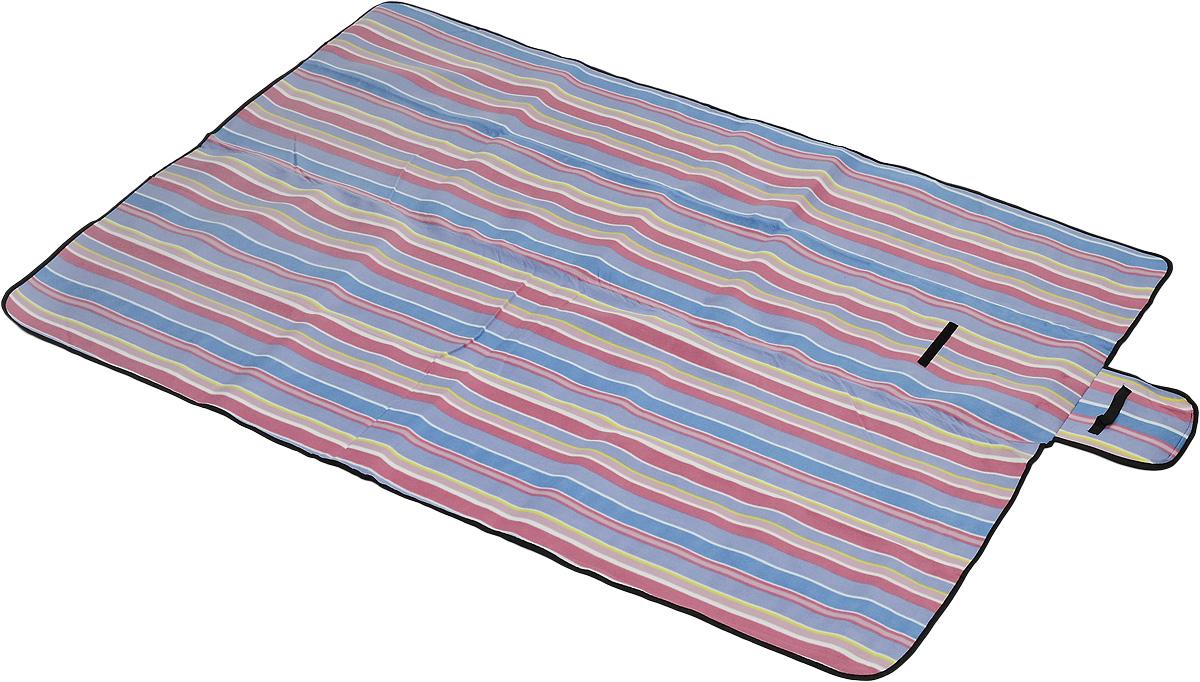 Коврик для пикника Wildman  Флиппер , цвет: синий, сиреневый, малиновый, 150 х 200 см - Подушки, пледы, коврики