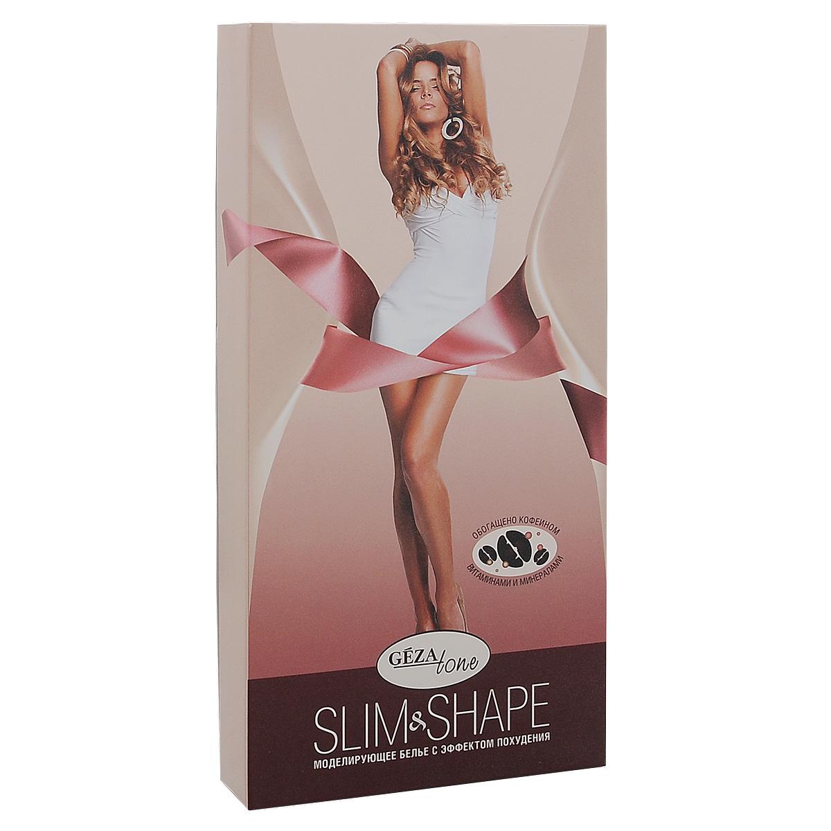 Моделирующий комбидрес Gezatone Slim & Shape, с эффектом похудения, цвет: черный. 102808. Размер M (46)10280Моделирующий комбидрес с эффектом похудения помогает каждой женщине выглядеть красиво и сексуально. Теперь в любой одежде вы будете чувствовать себя уверенно и естественно, не прилагая никаких усилий.В структуру волокон ткани белья Slim & Shape включены вещества, ускоряющие процессы расщепления жира и лимфодренаж, способствующие выравниванию кожного рельефа и уменьшению эффекта апельсиновой корки. Инкапсулированные в волокна ткани активные вещества обеспечивают полноценный комплексный уход за кожей тела, повышая ее тонус, упругость и эластичность, увлажняя и смягчая. Клинические испытания белья Slim & Shape, проведенные при содействии клиник и институтов в разных странах мира, представили поразительные результаты, которые говорят о том, что ежедневное применение корректирующего белья для похудения Slim & Shape, уменьшает проявления целлюлита, способствует выравниванию кожного рельефа в проблемных зонах, и уменьшает объемы без дополнительного воздействия. Все положительные корректирующие результаты, отмеченные у 95% участников испытаний, Slim & Shape обеспечивает структура ткани со специальной пропиткой.