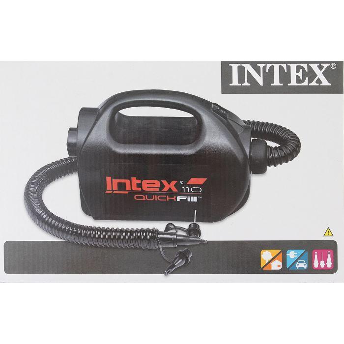 Насос электрический Intex, цвет: черный. 68609 насос электрический intex 220в со шлангом 66624