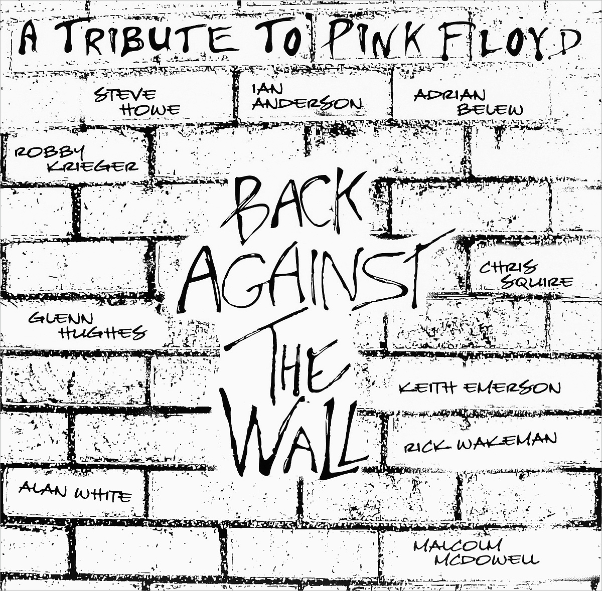 Pink Floyd. A Tribute To Back Against The Wall (2 LP) family wall quote removable wall stickers home decal art mural