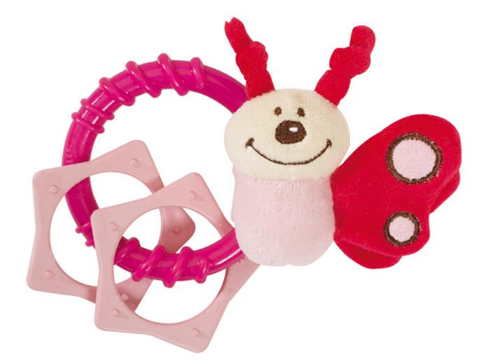 Simba Погремушка Насекомые цвет розовый simba погремушка белка