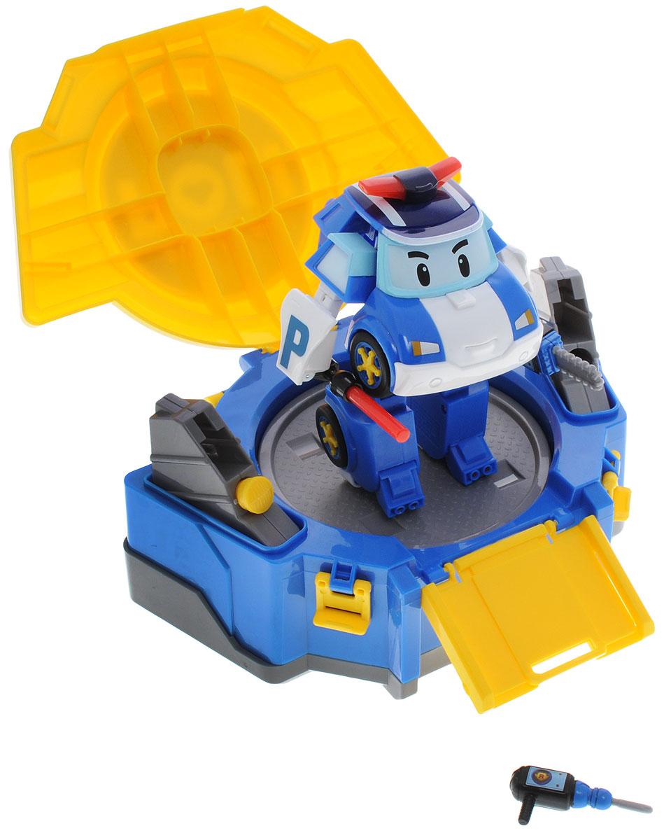 Robocar Poli Игровой набор Кейс  трансформером Поли