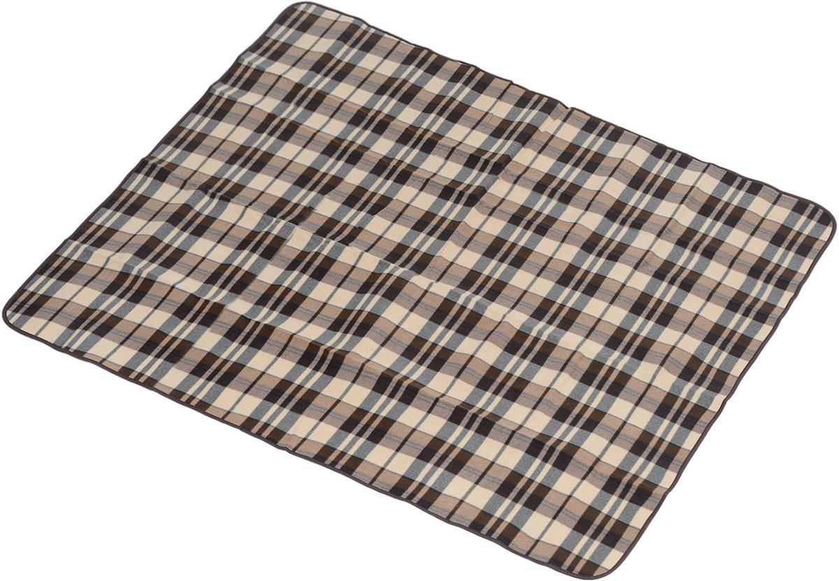 Коврик для пикника Wildman Виши, цвет: коричневый, 180 х 150 см81-393_коричневый, клеткаКоврик для пикника Wildman Виши, выполненный из хлопка и полимерных материалов, позволит полноценно отдохнуть на природе.Он легкий, не занимает много места и прекрасно изолирует человеческое тело от холода и влаги. Мягкая поверхность коврика защищает от неровностей почвы, поэтому туристам, имеющим такую подстилку, гарантирован, кроме удобного отдыха, еще и комфортный сон.