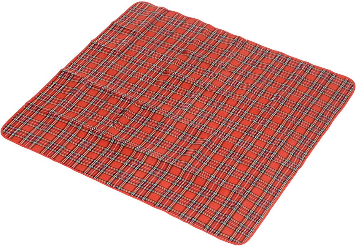 Коврик для пикника Wildman Виши, цвет: красный, 180 х 150 см81-393Коврик для пикника Wildman Виши, выполненный из хлопка и полимерных материалов, позволит полноценно отдохнуть на природе.Он легкий, не занимает много места и прекрасно изолирует человеческое тело от холода и влаги. Мягкая поверхность коврика защищает от неровностей почвы, поэтому туристам, имеющим такую подстилку, гарантирован, кроме удобного отдыха, еще и комфортный сон.