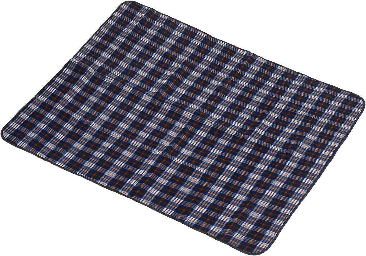 Коврик для пикника Wildman Виши, цвет: синий, 180 х 150 см81-393_синий, коричневый, клеткаКоврик для пикника Wildman Виши, выполненный из хлопка и полимерных материалов, позволит полноценно отдохнуть на природе.Он легкий, не занимает много места и прекрасно изолирует человеческое тело от холода и влаги. Мягкая поверхность коврика защищает от неровностей почвы, поэтому туристам, имеющим такую подстилку, гарантирован, кроме удобного отдыха, еще и комфортный сон.