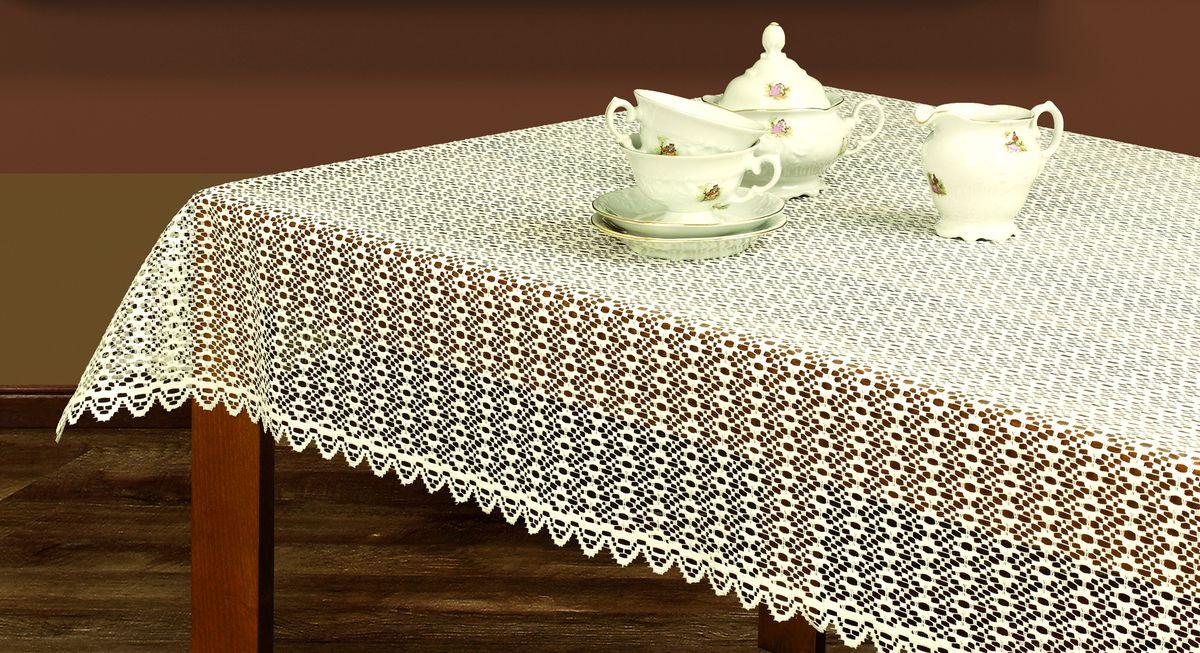 Скатерть Haft, прямоугольная, цвет: кремовый, 100 х 150 см