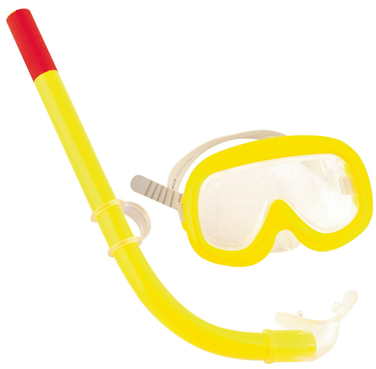 Bestway Детский набор для ныряния Sun. 2400624006Детский набор для ныряния Bestway Sun предназначен для малышей в возрасте от 3 до 6 лет. В комплект входит удобная маска, обеспечивающая хороший обзор и прочное крепление, и трубка со специальным стандартным изгибом, надежно предотвращающая попадание воды. С таким набором вы можете быть спокойны за безопасность ребенка, изучающего подводный мир. Гарантией качества, удобства и прочности этого набора является его известный производитель Bestway. Этот бренд, появившийся еще в 1993 году, зарекомендовал себя на рынке как изготовитель первоклассных изделий для активного отдыха.