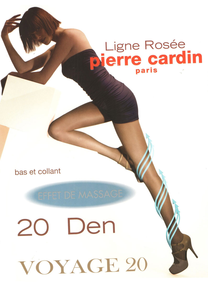 Колготки Pierre Cardin Voyage 20, цвет: Nero (черный). Размер 4 (46/48) колготки pierre cardin cr toulouse 200 цвет nero черный размер 4