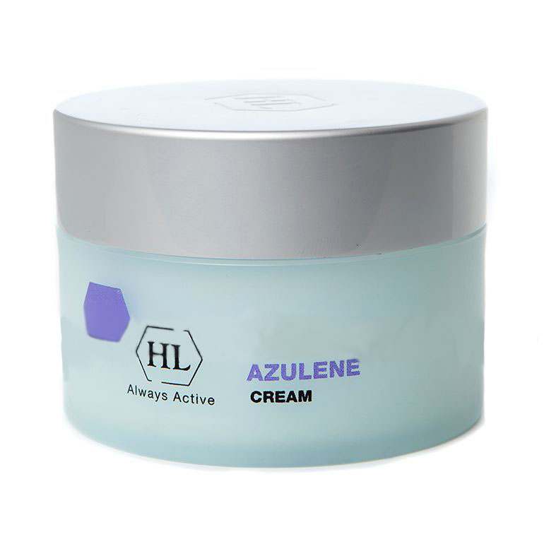 Holy Land Питательный крем для лица Azulen Cream 250 мл101063Нежный крем успокаивающего действия. Питает кожу до глубоких слоёв эпидермиса, уменьшает шелушение и раздражение. Отлично работает против обветренностей. Защищает от воспалений и воздействия окружающей среды. Бережно воздействует на аллергические реакции и предупреждает появление новых.