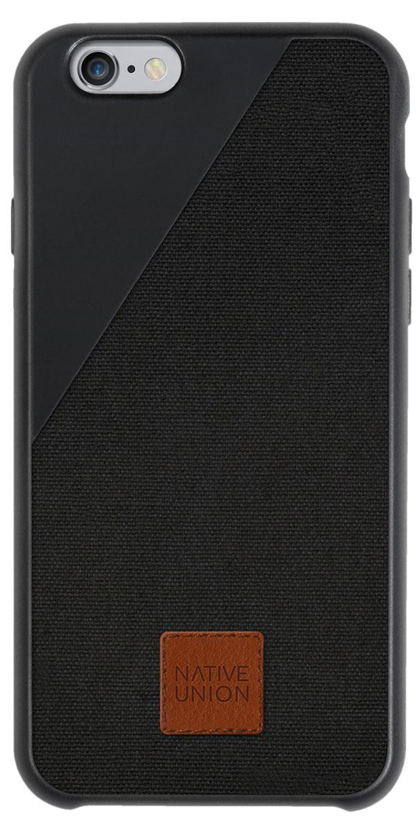 Native Union Clic 360 чехол для Apple iPhone 6/6s, BlackCLIC360-BLK-CV-6Чехол Native Union Clic 360 для iPhone 6/6s- это уникальный аксессуар, в котором собрана масса инноваций для защиты вашего смартфона. Например, 3D сетка на внутренней стороне чехла, которая протестирована в армейских условиях. С помощью чехла Native Union Clic 360 вы можете использовать ваш iPhone в самых экстремальных условиях: и в дождь, и в снег, даже вылить на него стакан воды. Все это благодаря специальной ткани от легендарной британской фабрики. Это холст высочайшего качества, материал сверх износостойкий, защищает от загрязнений и от воды. Форма британских спецслужб изготавливается именно из этого материала и поставляется именно этой фабрикой с 1832 г. Чехол органично смотрится с телефоном, практически не увеличивая его в размерах.