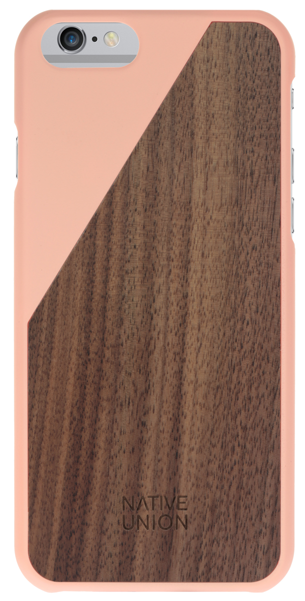 Native Union Clic Wooden чехол из натурального дерева для Apple iPhone 6/6s, Pink клип кейс native union clic wooden для apple iphone 7 8 черный