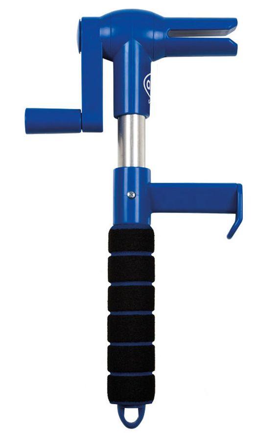Устройство наматывающее для крепежных ремней Alca406900Устройство Alca предназначена для смотки крепежных ремней. Длительный срок службы обеспечивается качественным материалам. Каркас выполнен из высококачественного алюминия и оснащен мягкой ручкой. Устройство работает при температуре до -30°С.