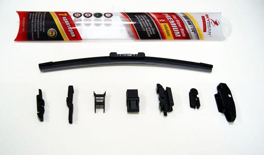 Щетка стеклоочистителя Skybear Premium, бескаркасная, 33 см, 1 шт аксессуар skybear 251000