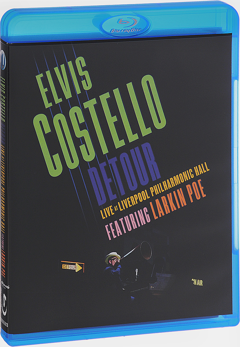 Elvis Costello: Detour Live At Liverpool Philharmonic Hall (Blu-ray) status quo pictures live at montreux 2009 blu ray