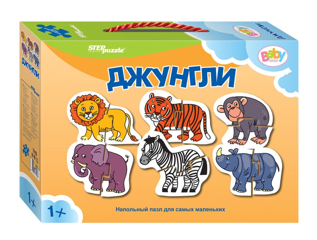 Step Puzzle Пазл для малышей Джунгли 6 в 1 -